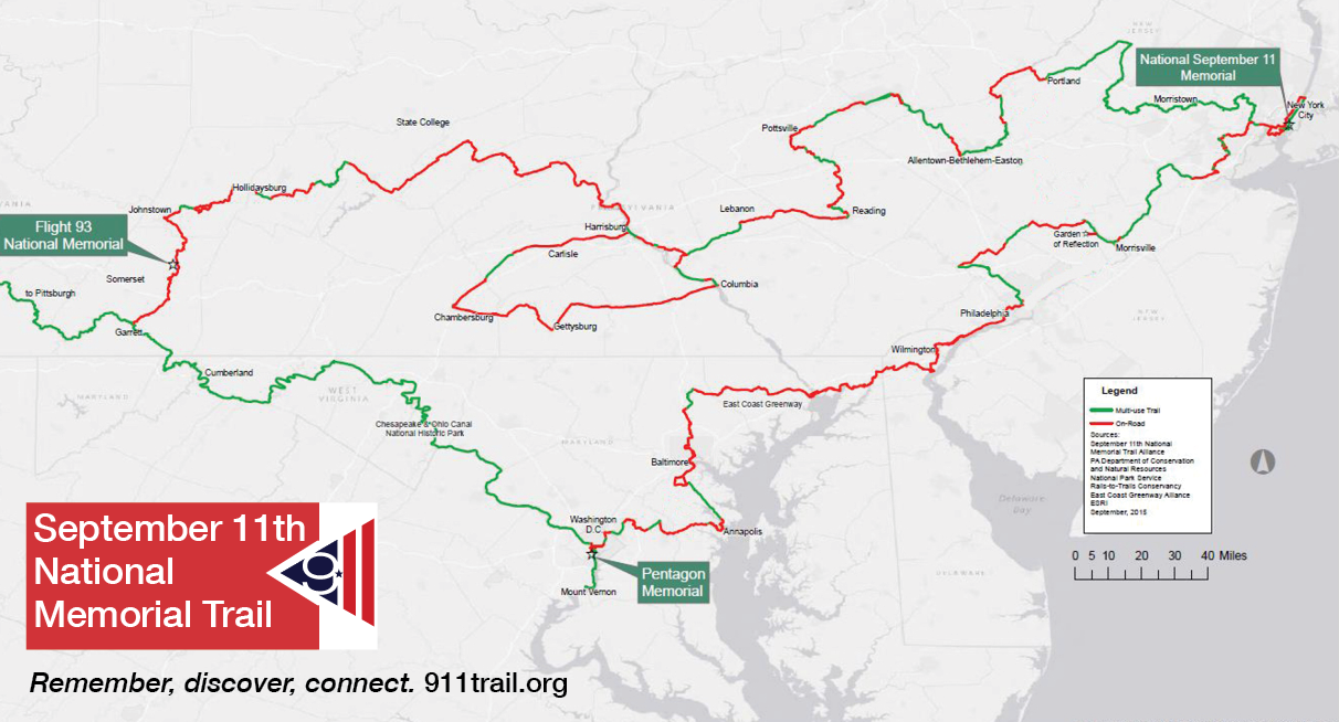 911 Trail Map